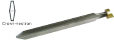 Diamond Parting Tool - 3/16""